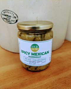 Spicy Mexican Sauerkraut